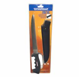 """Shimano 9"""" Blade Fillet Knife with Sheath Non-Slip Grip 22cm"""