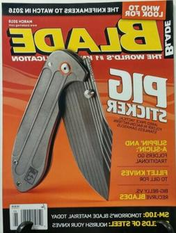 Blade March 2016 Pig Sticker Fillet Knives Who to Look For F