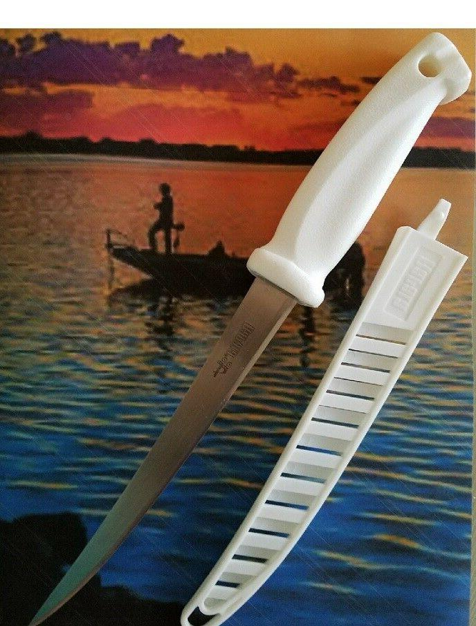 """Rapala ® 7"""" Saltwater Fish Fillet Knife Stainless Steel Eas"""