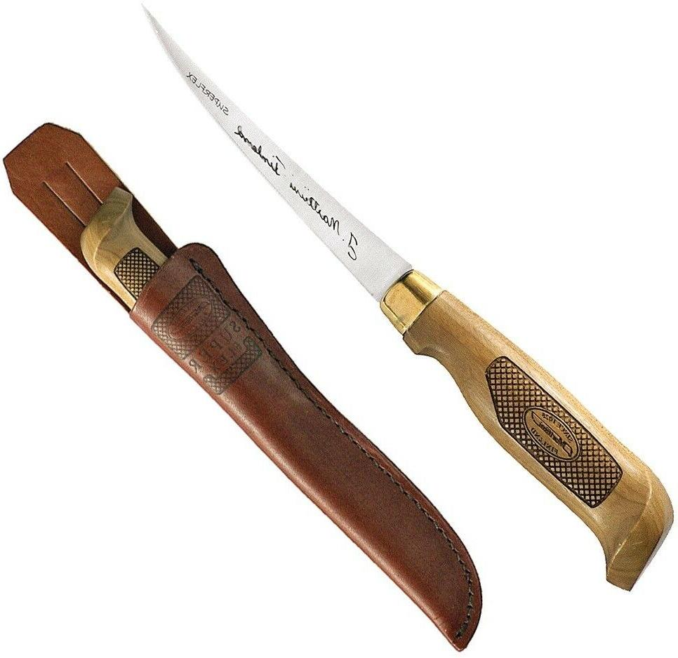 superflex fixed knife 4 stainless steel fillet